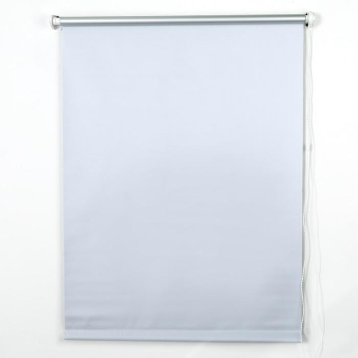 Штора рулонная блэкаут 50х160 см, цвет белый