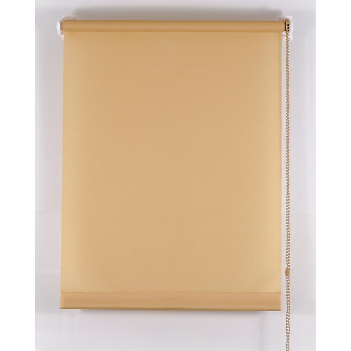 Рулонная штора «Комфортиссимо» 70х160 см, цвет кофе