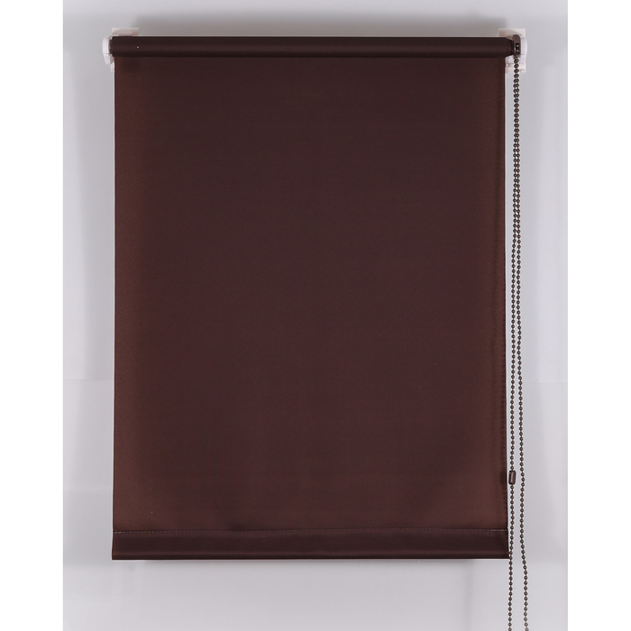 Рулонная штора «Комфортиссимо» 45х160 см, цвет шоколадный