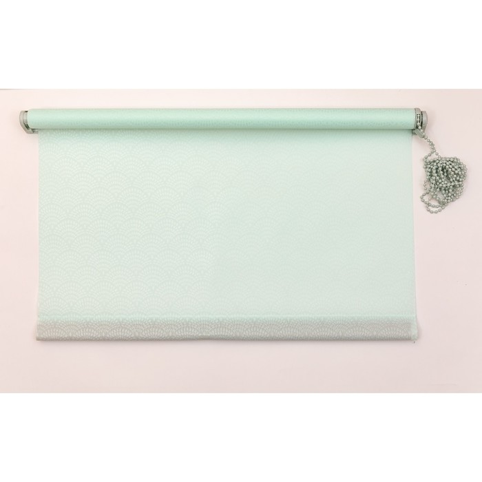 Рулонная штора «Дольче Вита» 40х160 см, цвет нежная мята