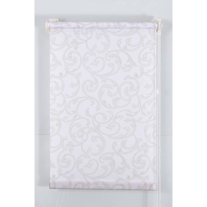Рулонная штора «Англетер» 180х160 см, цвет белый