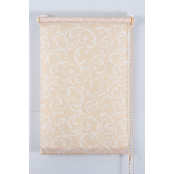 Рулонная штора «Англетер» 200х160 см, цвет персик