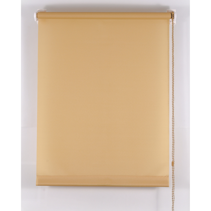 Рулонная штора «Комфортиссимо» 45х160 см, цвет кофе