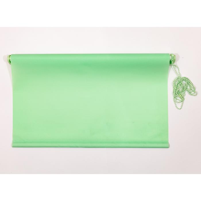Рулонная штора «Комфортиссимо» 80х160 см, цвет зелёное яблоко
