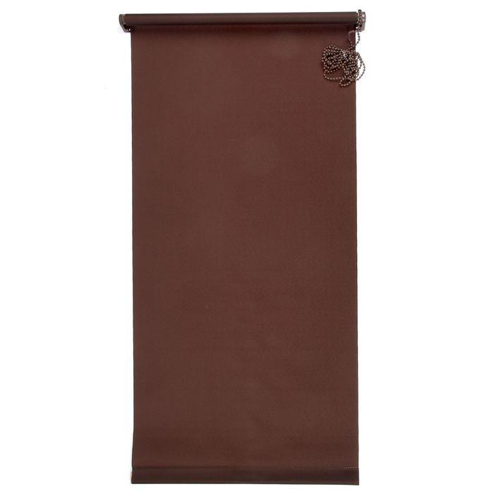 """Штора-ролет 50х160 см """"Комфортиссимо"""", цвет шоколадный"""