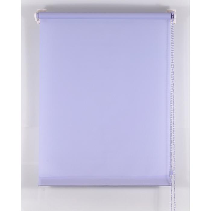 Рулонная штора «Комфортиссимо» 90х160 см, цвет серо-голубой