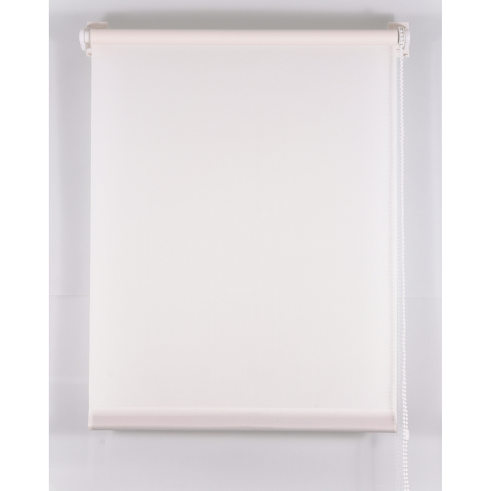 Рулонная штора «Комфортиссимо» 90х160 см, цвет белый