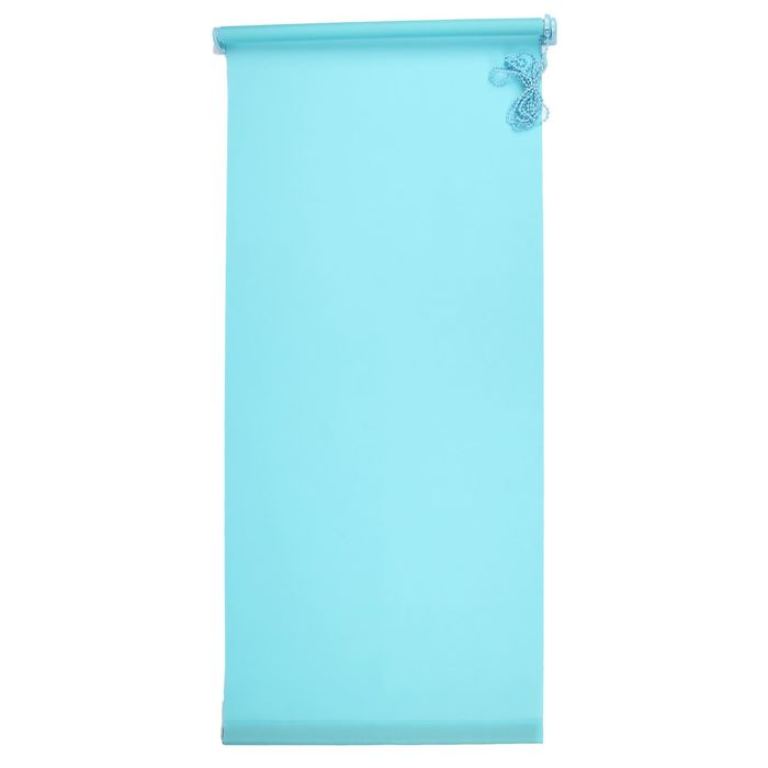 "Штора-ролет 50х160 см ""Комфортиссимо"", цвет голубой"