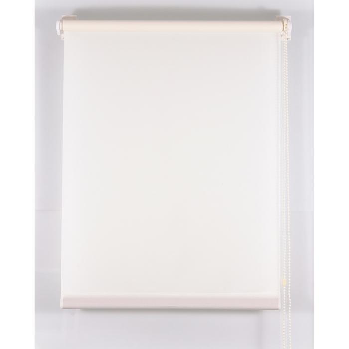 Рулонная штора «Комфортиссимо» 100х160 см, цвет бежевый