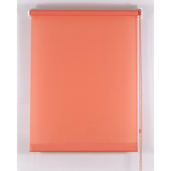 Рулонная штора «Комфортиссимо» 100х160 см, цвет терракот