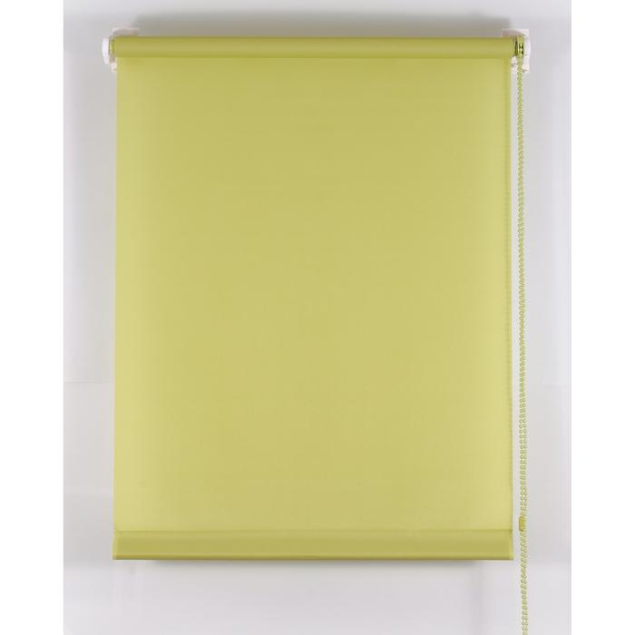 Рулонная штора «Комфортиссимо» 100х160 см, цвет оливковый
