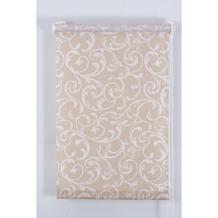 Рулонная штора «Англетер» 80х160 см, цвет кофе