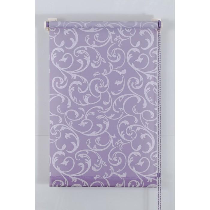 Рулонная штора «Англетер» 100х160 см, цвет сирень