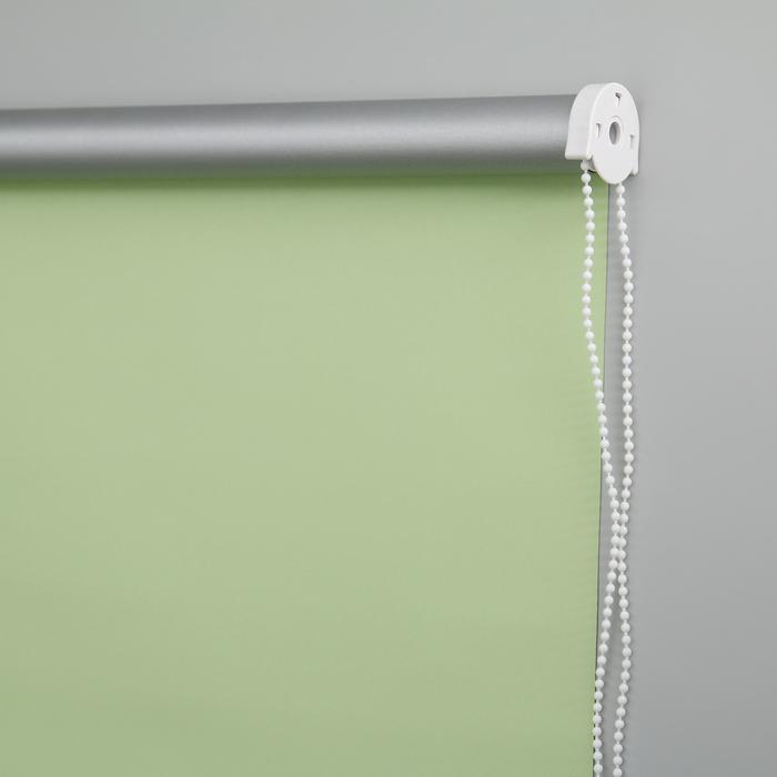 """Миниролл 100×160 см """"Блэкаут.Плайн"""", цвет весенний зелёный"""