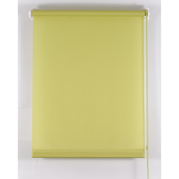 Рулонная штора «Комфортиссимо» 140х160 см, цвет оливковый