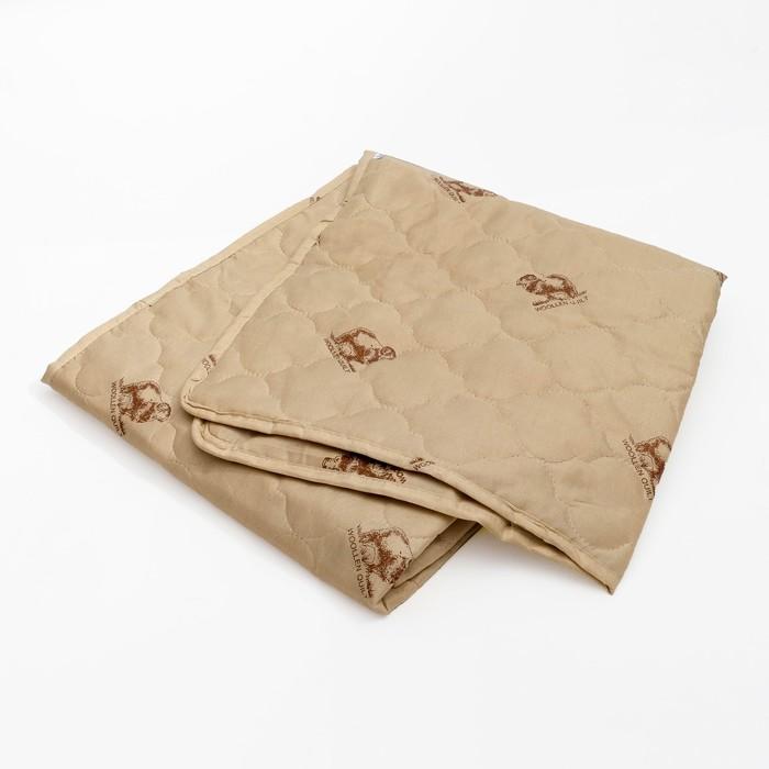 """Наматрасник Адамас """"Овечья шерсть"""", размер 90х200 см, полиэстер, пакет"""