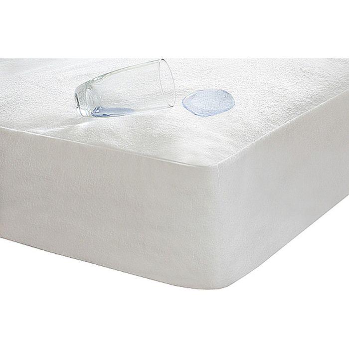 Чехол из махровой ткани Caress, цвет микс, размер 90х190 см
