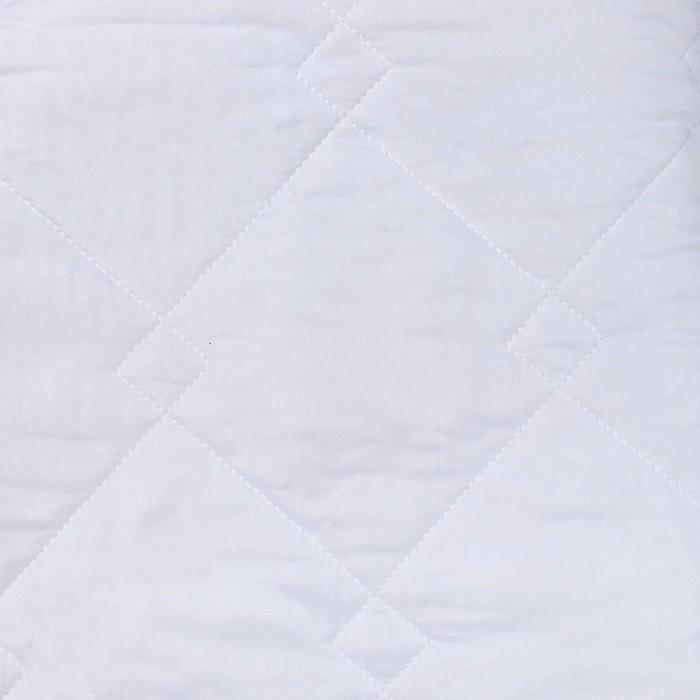 Наматрасник 140х200 см, иск.лебяжий пух, микрофибра, пэ 100%