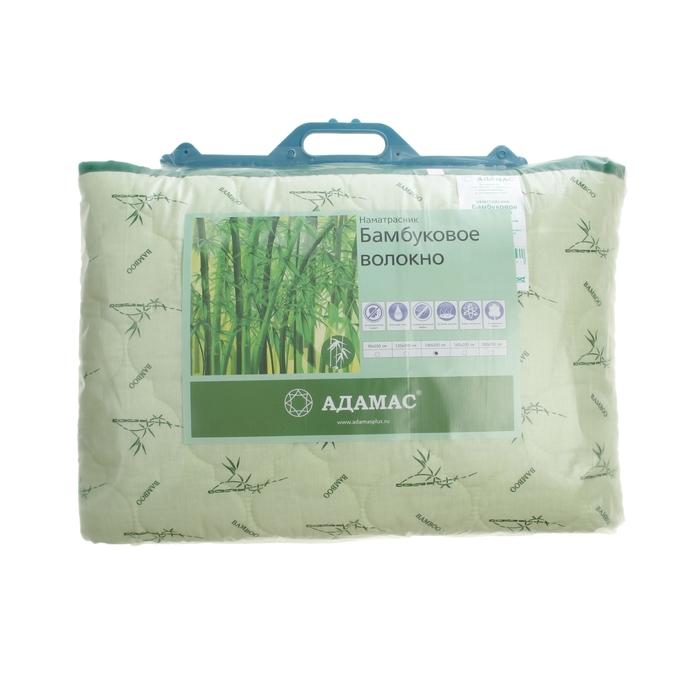 """Наматрасник Адамас """"Бамбук"""", размер 90х200 см, поликоттон, пакет"""