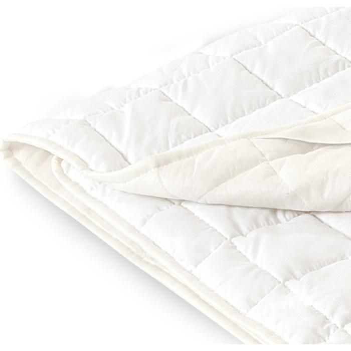 Наматрасник, размер 120х200 см, спандбонд, белый
