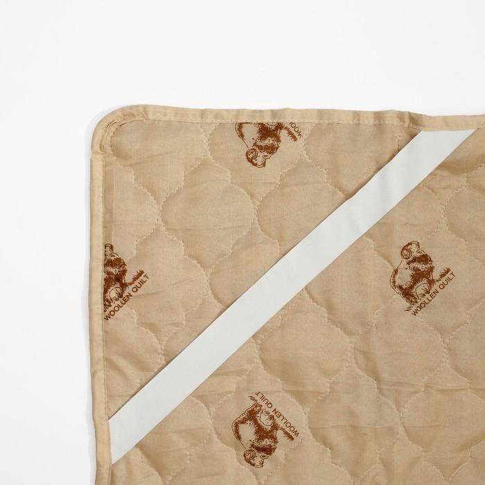 """Наматрасник Адамас """"Овечья шерсть"""", размер 140х200 см, полиэстер, пакет"""