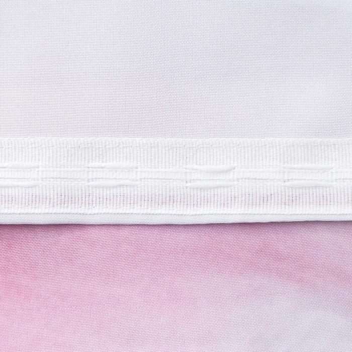 Комплект штор Веточка нежности штора (147х267 см), тюль (147х267 см), габардин, пэ 100%
