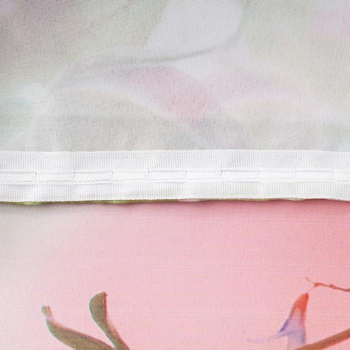 Комплект штор Прелюдия штора (147х267 см), тюль (147х267 см), габардин, пэ 100%