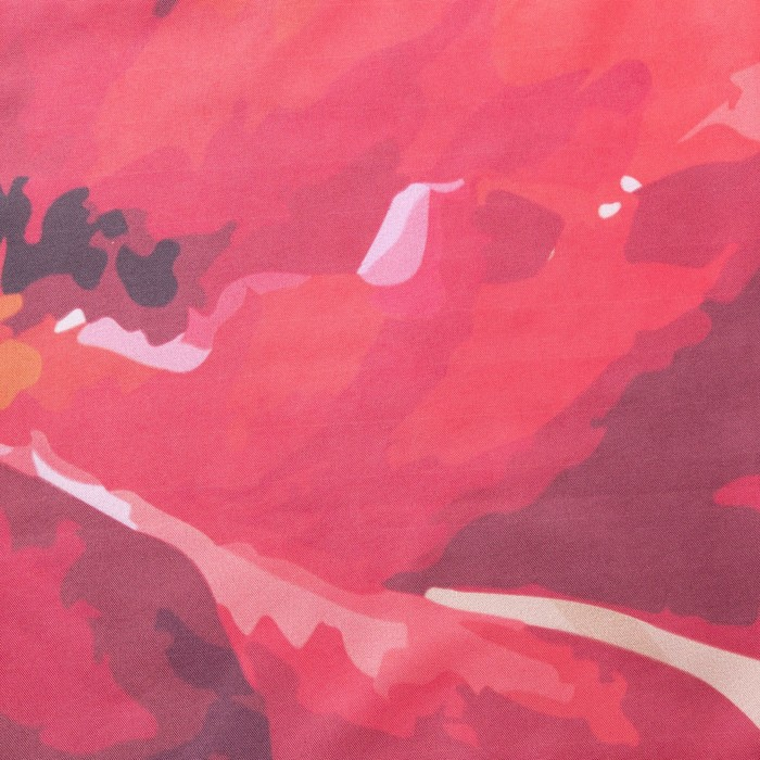 Комплект штор маковый цвет штора (147х267 см), тюль (147х267 см), габардин, пэ 100%
