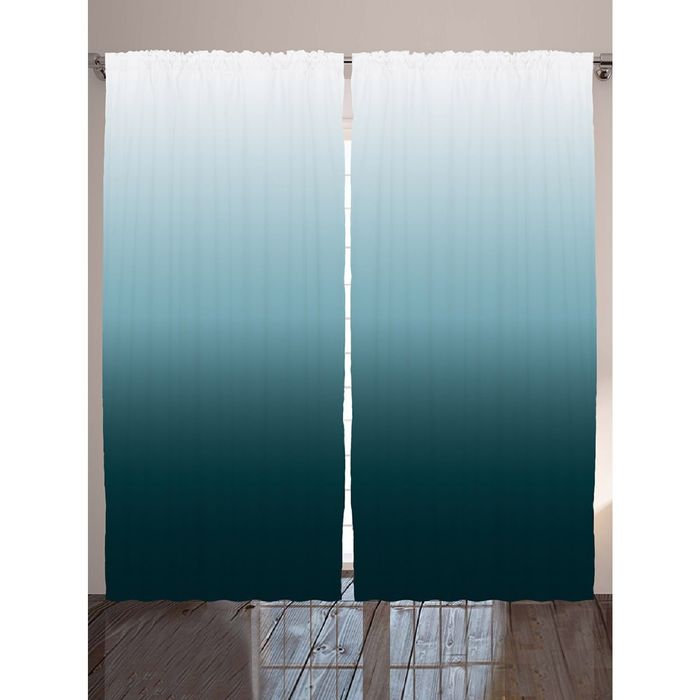 Комплект фотоштор JoyArty «Светлеющее небо», 145х265 см - 2 шт, п/э 100%