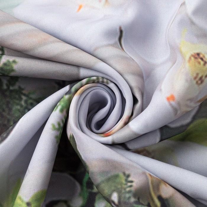 Комплект штор Аквамарин штора (147х267 см), тюль (147х267 см), габардин, пэ 100%
