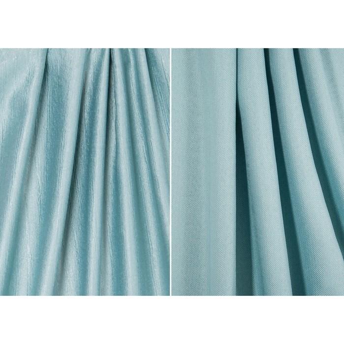 Ткань портьерная, ширина 280 см, двусторонняя, однотон