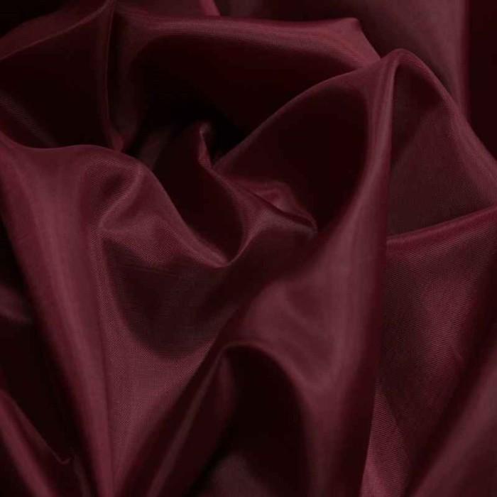 Ткань подкладочная, ширина 150 см. цвет бордо