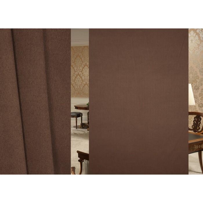 Ткань портьерная, ширина 300 см, лен