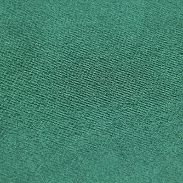 Ткань плательная, креп-сатин, ширина 150 см, цвет тёмно-зелёный, 210г/м.п