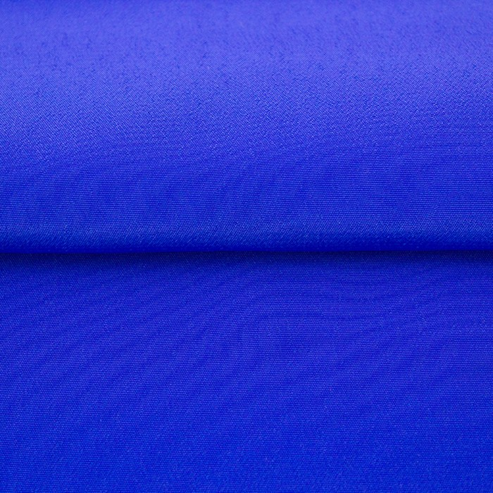 Ткань гладкокрашеная, креп кашибо, ширина 150 см, цвет электрик