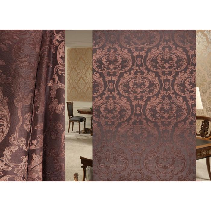 Ткань портьерная Gloria в рулоне, ширина 150 см, жаккард 91897
