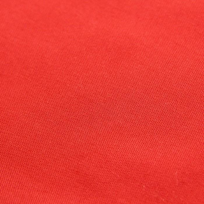 Ткань плательная, штапель гладкокрашеный, ширина 150 см, красный