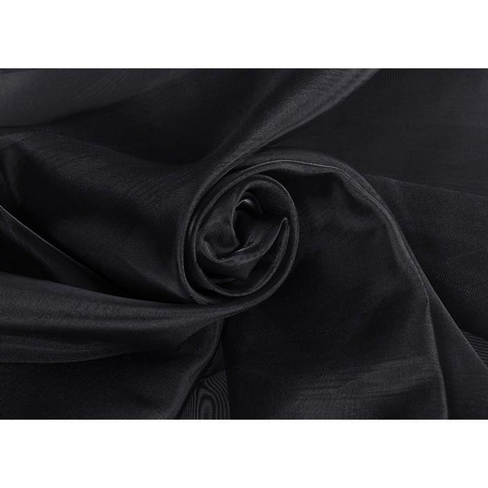 Ткань тюлевая, ширина 300 см, полуорганза, однотон