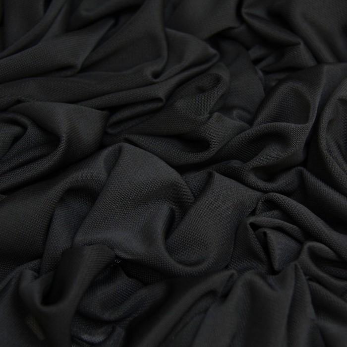 Трикотаж, нейлон стрейч, ширина 150 см, чёрный