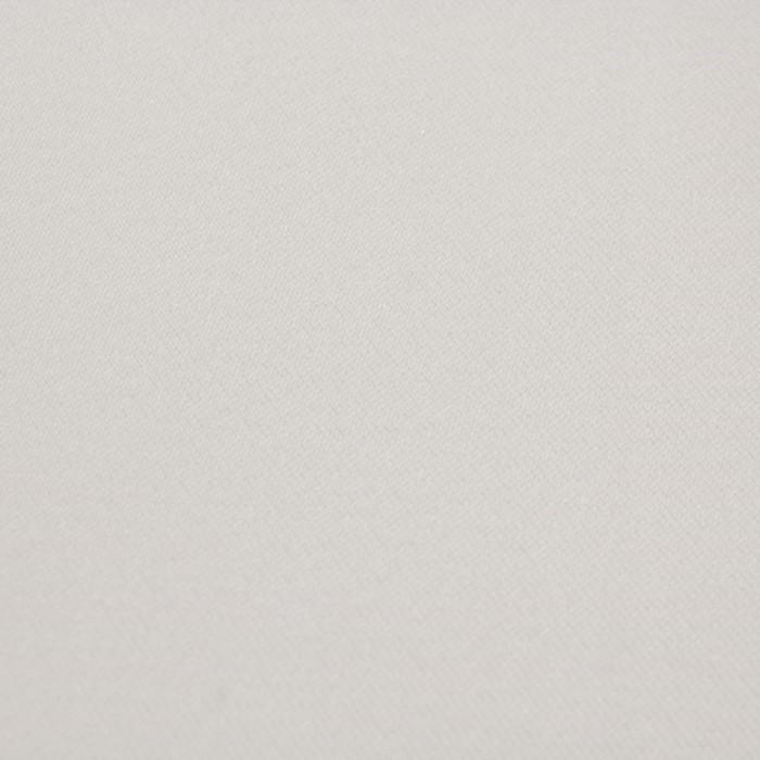 Ткань костюмная Пикачо, ширина 150 см, цвет белый 330 г/п.м.