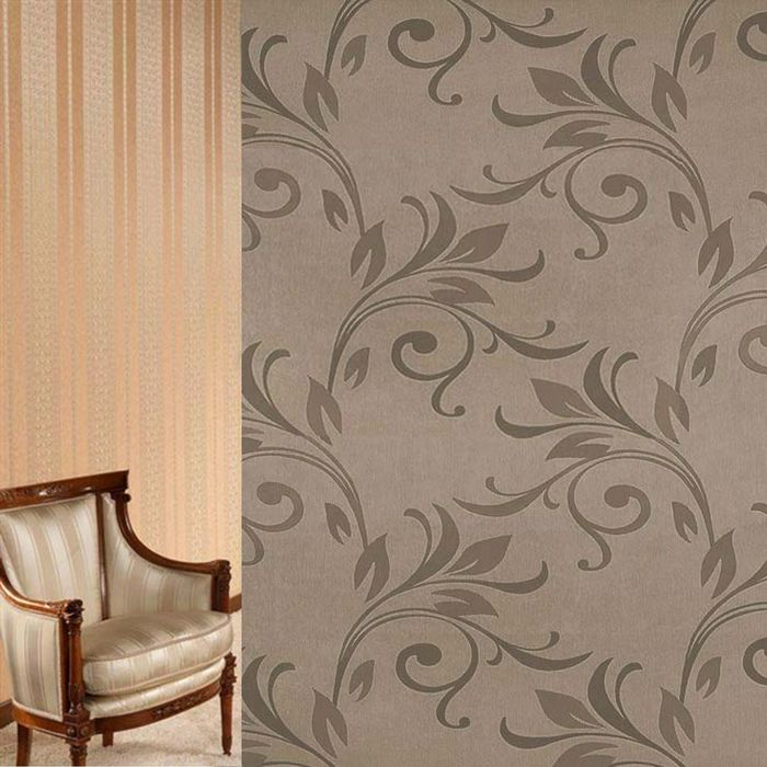 Ткань портьерная в рулоне, ширина 150 см., блэкаут 79405