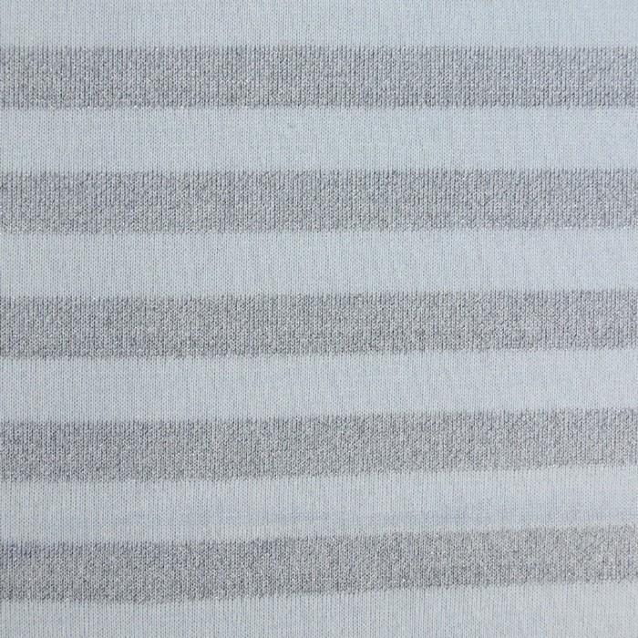 Трикотаж плательный в рулоне, ширина 170 см, люрекс, бледно-голубой