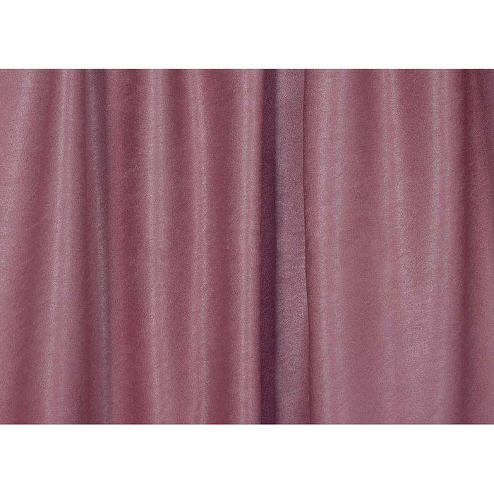 Ткань портьерная в рулоне, ширина 280 см, однотонная, софт 45495