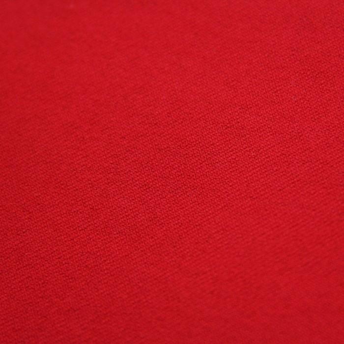 Ткань костюмная, стрейч, ширина 150 см, красный