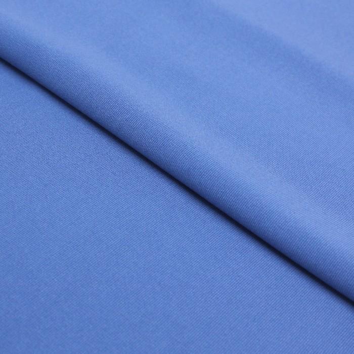 Трикотаж плательный, вискоза гладкокрашеная, ширина 150 см, цвет синий