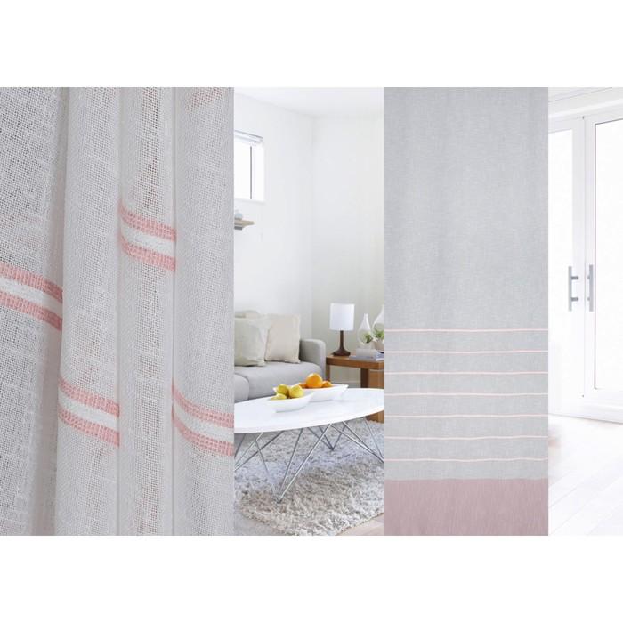 Ткань портьерная в рулоне, ширина 300 см, лён 95321