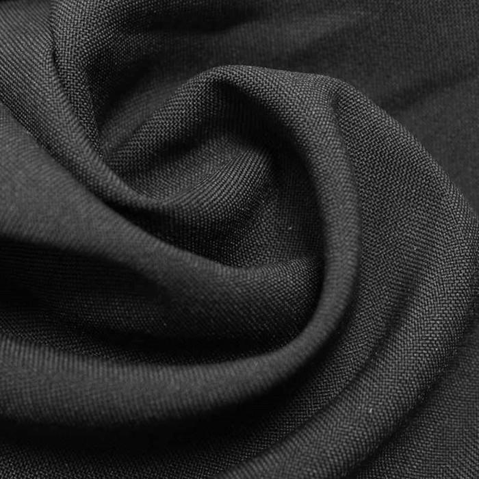 Ткань костюмная габардин, ширина 150 см, цвет тёмно-серый 260 г/п.м.