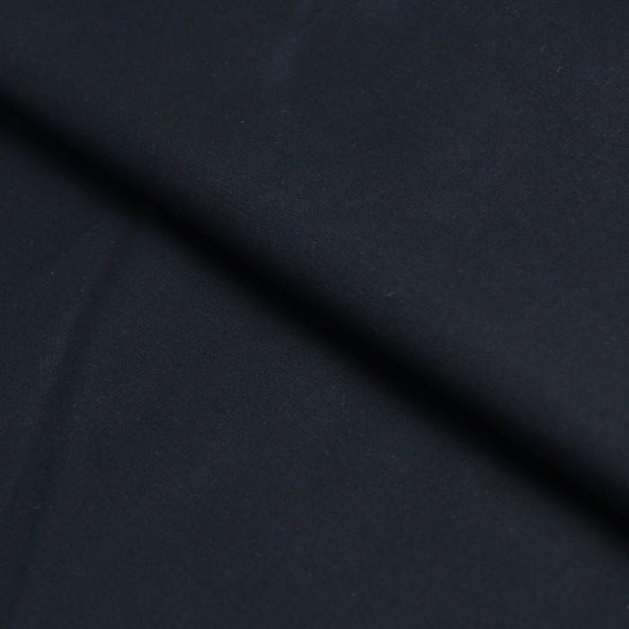 Ткань костюмная, стрейч гладкокрашеный, ширина 150 см, чёрный