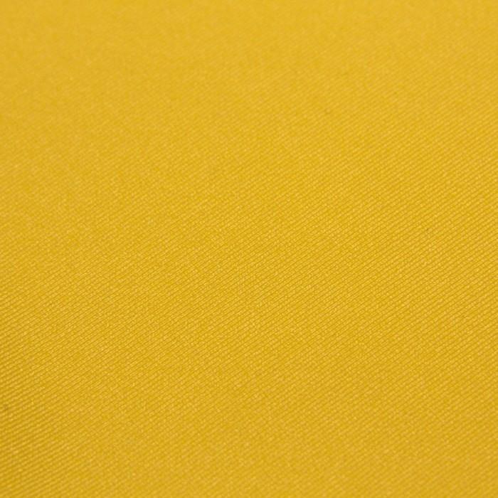 Трикотаж плательный, бифлекс, ширина 150 см, цвет жёлтый