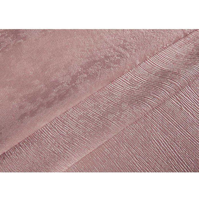 Ткань портьерная в рулоне, ширина 280 см, однотонная, софт 84521